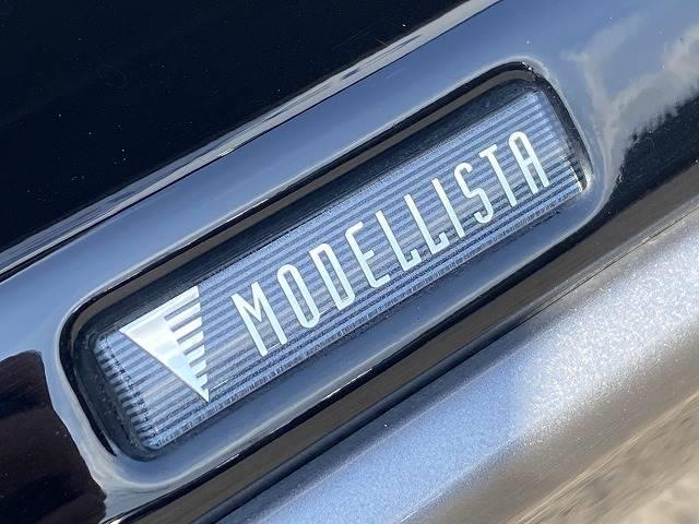 エレガンス SDナビTVカメラ シュティッヒ20AW モデリスタエアロ ハーフレザー LEDヘッドライト スマートキー 4WD ビルトインETC オートライト(8枚目)