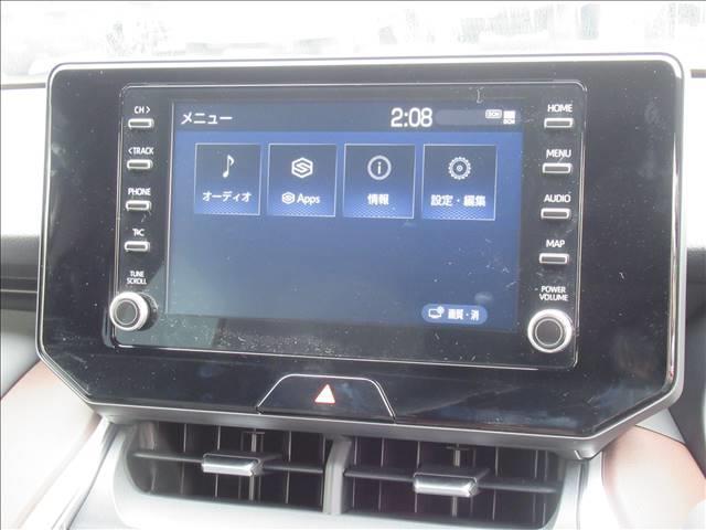 G 新車未登録 8型ディスプレイオーディオ LEDヘッドライト セーフティセンス レーダークルーズ レーンキープ プリクラッシュ ハーフレザー デジタルインナーミラー クリアランスソナー(4枚目)