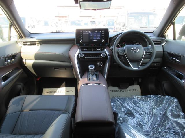 G 新車未登録 8型ディスプレイオーディオ LEDヘッドライト セーフティセンス レーダークルーズ レーンキープ プリクラッシュ ハーフレザー デジタルインナーミラー クリアランスソナー(62枚目)