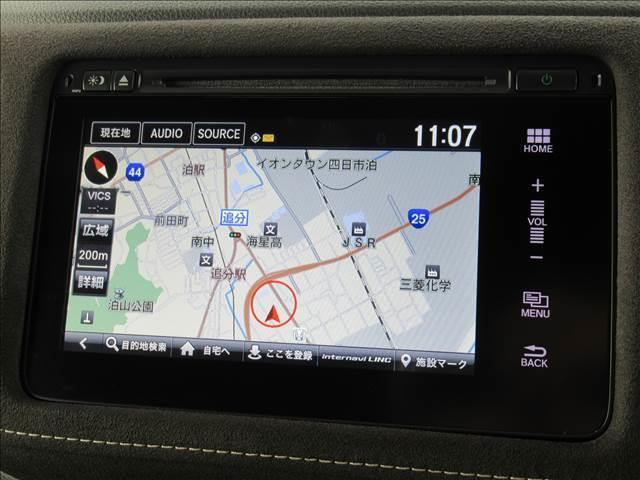 RS・ホンダセンシング 後期 インターナビ フルセグTV Bカメラ レーダークルコン 衝突軽減ブレーキ レーンキープ 半革シート シートヒーター HDMI ビルトインETC パドルシフト オートライト LEDヘッド 標識認識(4枚目)