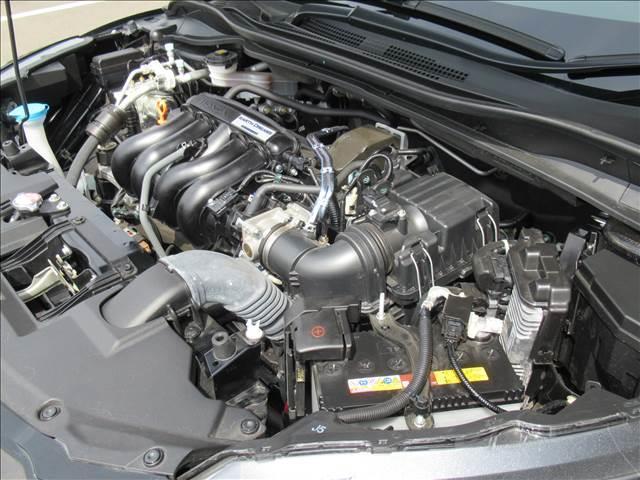 RS・ホンダセンシング 後期 インターナビ フルセグTV Bカメラ レーダークルコン 衝突軽減ブレーキ レーンキープ 半革シート シートヒーター HDMI ビルトインETC パドルシフト オートライト LEDヘッド 標識認識(18枚目)