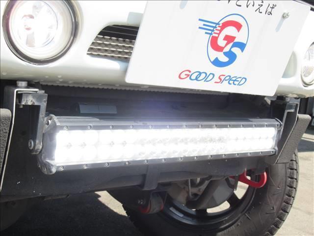 ランドベンチャー 10型 リフトUP カーボン製ボンネット High-Bridge-Firstマフラー LEDアンダーカバー HIDヘッドライト 背面タイヤレス ショートバンパー リアスポイラー シートヒーター 4WD(9枚目)