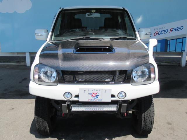 ランドベンチャー 10型 リフトUP カーボン製ボンネット High-Bridge-Firstマフラー LEDアンダーカバー HIDヘッドライト 背面タイヤレス ショートバンパー リアスポイラー シートヒーター 4WD(26枚目)