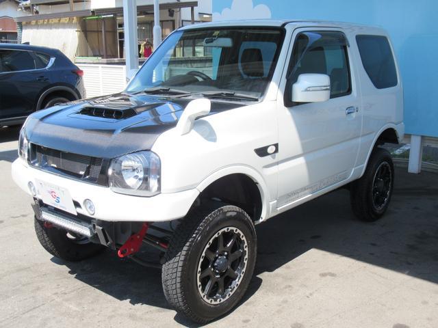 ランドベンチャー 10型 リフトUP カーボン製ボンネット High-Bridge-Firstマフラー LEDアンダーカバー HIDヘッドライト 背面タイヤレス ショートバンパー リアスポイラー シートヒーター 4WD(27枚目)