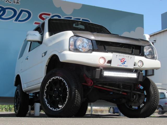 ランドベンチャー 10型 リフトUP カーボン製ボンネット High-Bridge-Firstマフラー LEDアンダーカバー HIDヘッドライト 背面タイヤレス ショートバンパー リアスポイラー シートヒーター 4WD(43枚目)