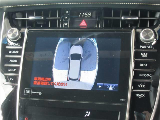 PREMIUM Advanced Package 黒半革シート メーカー純正ナビ JBLサウンド パノラミックビューモニター クリアランスソナー 衝突軽減ブレーキ レーダークルコン LEDヘッド オートハイビーム 電動リヤゲート スマートキー(5枚目)