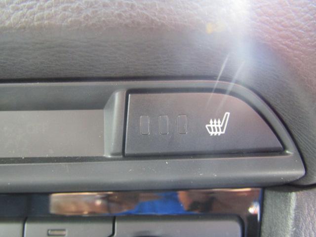 上級グレードにしかつかないシートヒーター搭載。