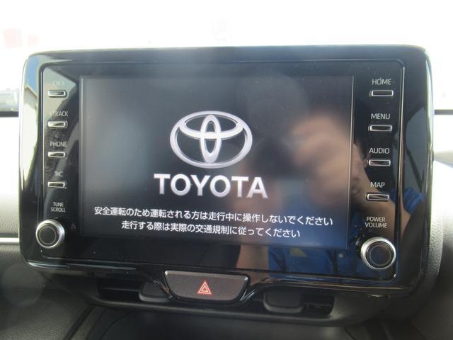 G 登録済未使用車 ディスプレイオーディオ クリアランスソナー レーダークルコン 衝突軽減ブレーキ 先行車発信告知 バックカメラ 純正16インチAW LEDヘッド オートハイビーム ステアリングスイッチ(4枚目)