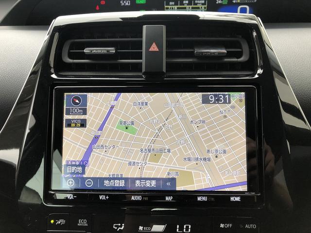 A 純正9インチY68Tナビ地デジBカメラ・LED・HUD・17AW・禁煙車・パワーシート・セーフティセンス(11枚目)