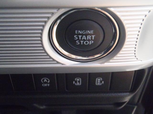 イモビライザー&プッシュ式キーレススターターで安心セキュリティー&楽々エンジンスタートです