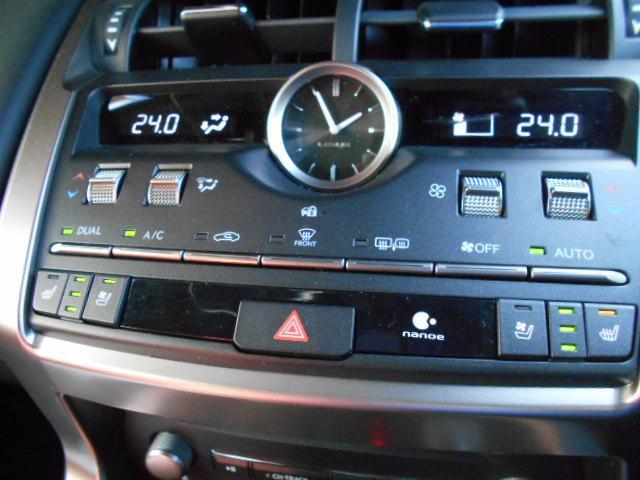 NX300 Fスポーツ サンルーフ 4WD フルセグ メモリーナビ 衝突被害軽減システム DVD再生 バックカメラ 革シート ETC フルエアロ LEDヘッドランプ ワンオーナー アイドリングストップ 記録簿 スマートキー(15枚目)