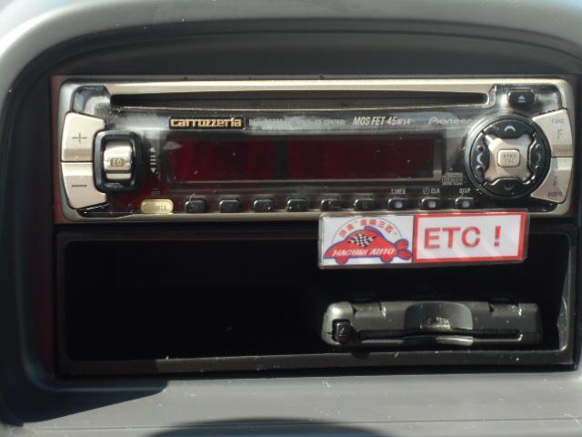 スバル プレオ A 禁煙車 ETC 社外オーディオ ドアバイザー コラムAT