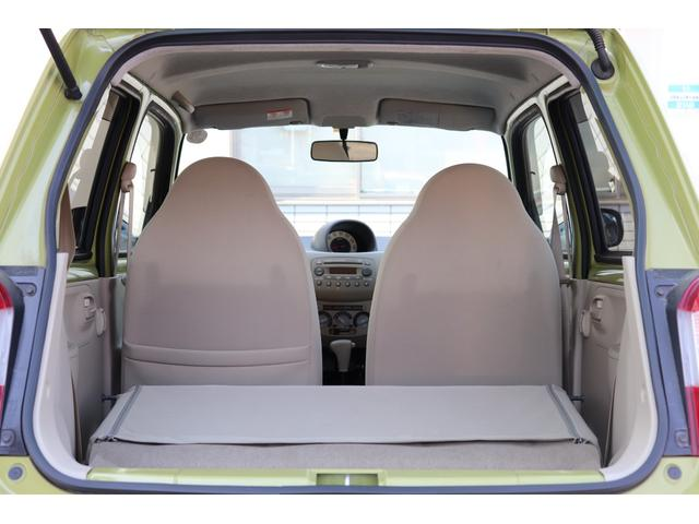★後席シートを倒せば、広々スペースを確保できます♪大きな荷物も楽々積み込み♪荷物がたくさん詰める事ってクルマ選びでは重要ですね!買い物しすぎても大丈夫ですよ♪