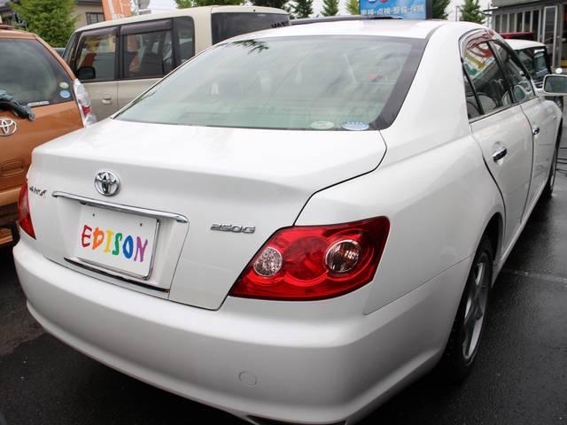 トヨタ マークX 250G ワンオーナー 記録簿 禁煙車 HID