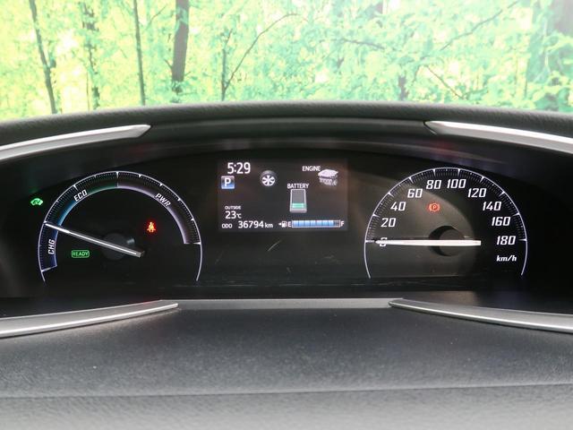 ハイブリッドG クエロ セーフティセンス 両側電動スライドドア SDナビ 地デジ バックカメラ ハーフレザーシート ETC LEDヘッド スマートキー オートエアコン オートライト 電動格納ミラー ABS ESC 記録簿(35枚目)