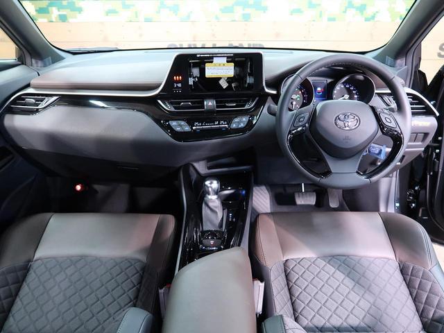 トヨタ C-HR G-T レーダークルコン プリクラッシュ ハーフレザーシート