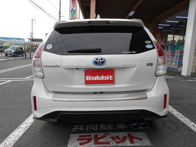 「トヨタ」「プリウスα」「ミニバン・ワンボックス」「愛知県」の中古車9