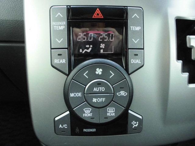 便利なオートエアコン!!温度を設定すれば自動的に温度を調整しくれます!!暑すぎず、寒すぎず快適です!