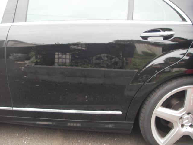S550ロング 後期仕様 ナビ フルセグTV 左ハンドル(18枚目)