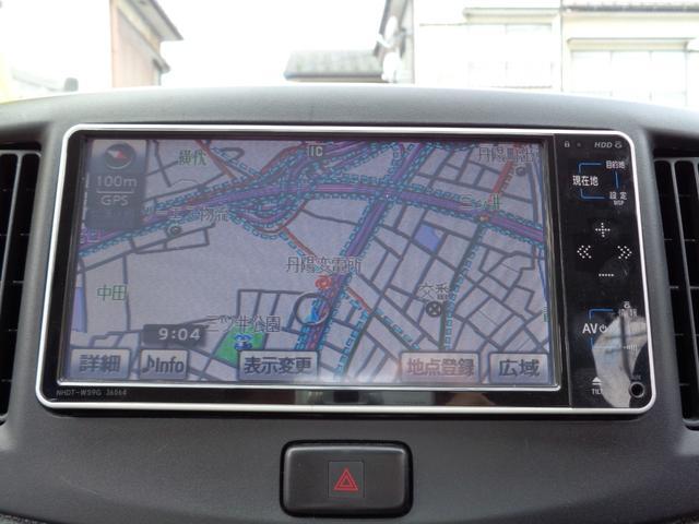 X HDDワイドナビ 2017年地図 ブルートゥースオーディオ ワンセグTV CD録音 DVD再生 ETC アイドリングストップ キーレス 電動格納ドアミラー プライバシーガラス コーナーポール(4枚目)