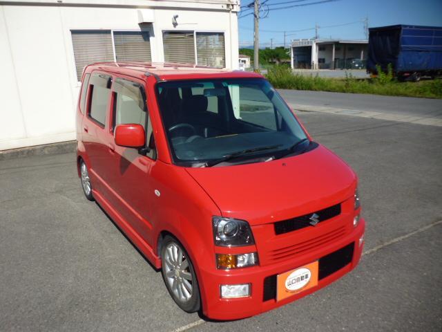 スズキ ワゴンR RR-DI ターボチャージャー・エアロ・アルミホイール・CD