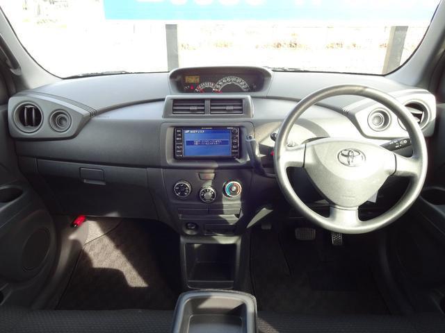 シンプルな車内空間です。