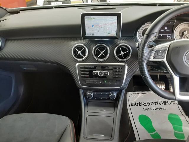 A180 ブルーエフィシェンシースポーツ 純HDDナビ フルセグTV ハーフレザーシート 純正19インチAW バックカメラ ETC クルーズコントロール 走行モード切替 アテンションアシスト 車間距離警告 エレクトリックスタビリティプログラム(22枚目)