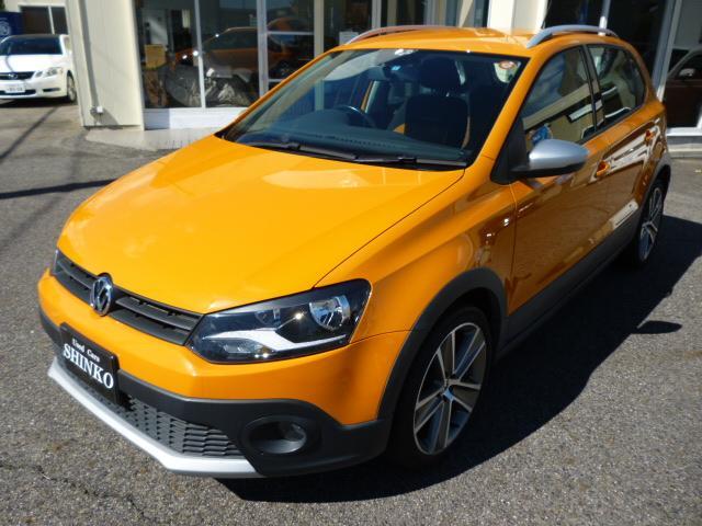 フォルクスワーゲン VW ポロ クロスポロ 禁煙車 ナビ ETC 盗難防止システム