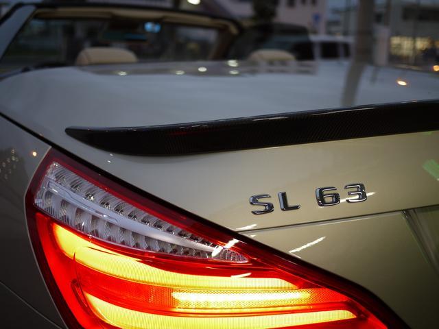 SL63 AMG パフォーマンスPKG カーボンインテリア(9枚目)