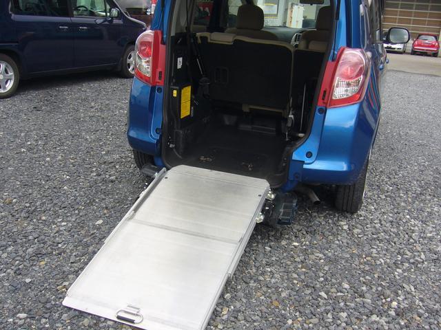 X ウエルキャブ車 車椅子仕様スロープタイプ  ナビ付ETC(13枚目)