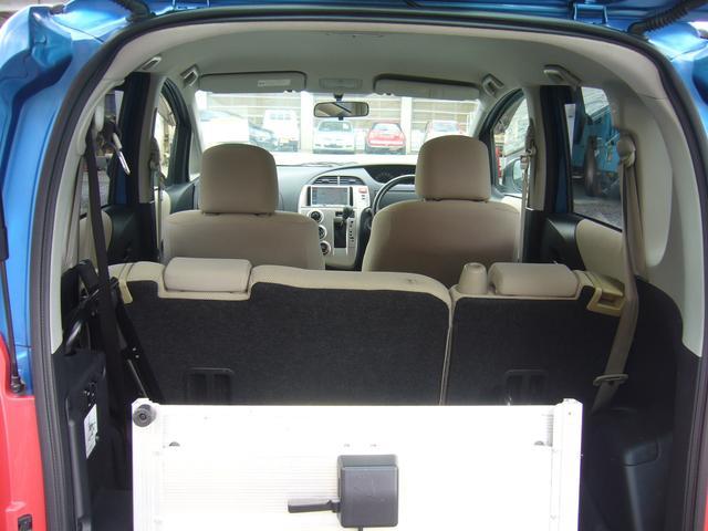 X ウエルキャブ車 車椅子仕様スロープタイプ  ナビ付ETC(17枚目)