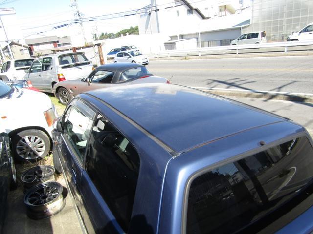 ターボie/s AT 4WD タイベルWP交換 新品タイヤ(6枚目)