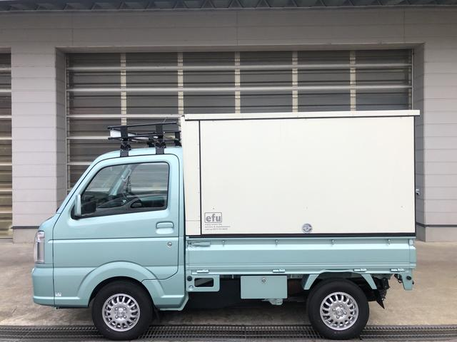 スズキ キャリイトラック KX 4WD 5AGS PS PW ETC 3方開 ランプス