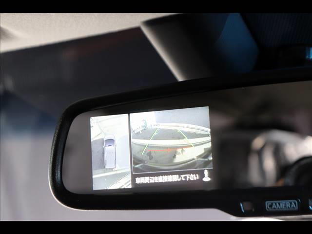 P 7人乗り アルパインBIGX フリップダウンモニター マルチアラウンドモニター パワーバックドア 4WD Bカメラ ディーゼル車 ステアリングヒーター 両側パワースライドドア パドルシフト(4枚目)