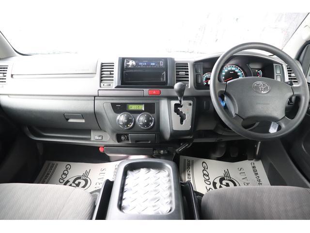 ロングスーパーGL 社外16inAW ホワイトレター ローダウン ETC  AC100V電源 フロントスポイラー オーディオ ベットキット フォグランプ(3枚目)