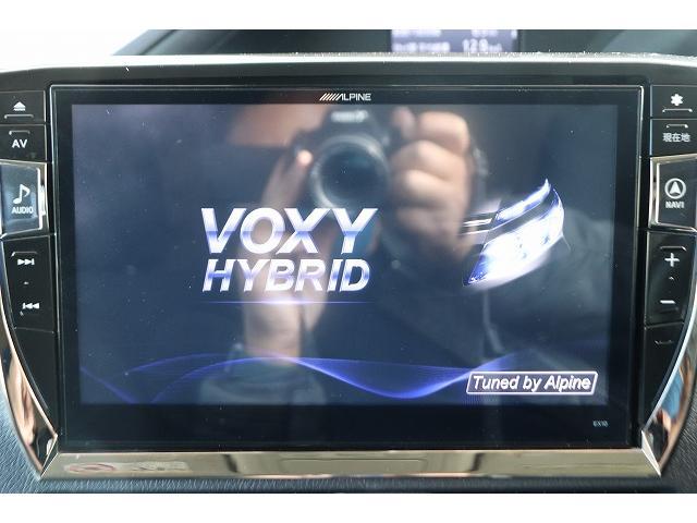 V ALPINE BIGX10型ナビ フルセグ ブルートゥース接続 DVD再生可 フリップダウンモニター 両側電動ドア LEDヘッドライト クルーズコントロール トヨタセーフティセンス ETC Wエアコン(4枚目)