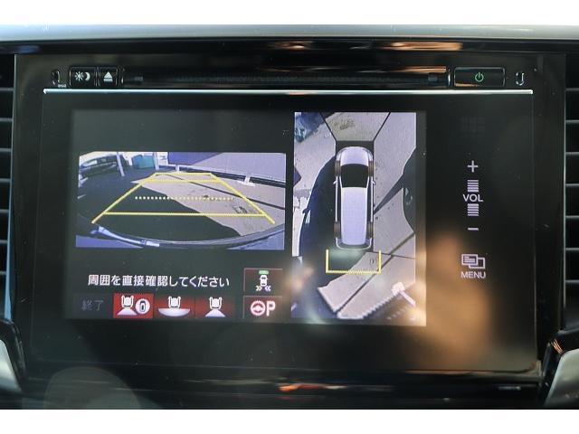 ABSOLUTE EX Advance ホンダセンシング 全周囲カメラ 両側電動スライドドア レーダークルーズ 純正フリップダウンモニター 純正HDDナビ フルセグ ブルートゥース接続可 純正アルミ ビルトインETC 電動シート(5枚目)