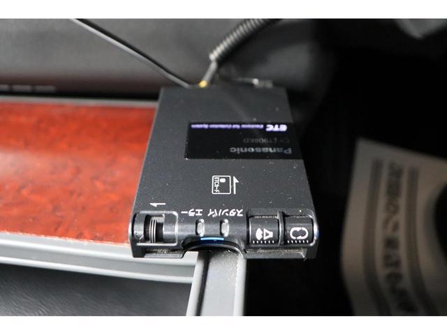 ロングスーパーGL モデリスタフロントリップ Wedsホイール 助手席エアバック HDDナビ フルセグ AC100V ETC 黒革調シートカバー 両側スライドドア 小窓付(11枚目)