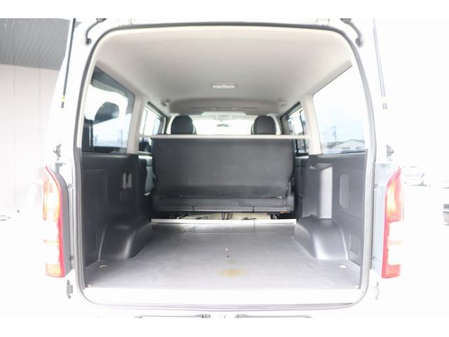 ロングスーパーGL モデリスタフロントリップ Wedsホイール 助手席エアバック HDDナビ フルセグ AC100V ETC 黒革調シートカバー 両側スライドドア 小窓付(18枚目)