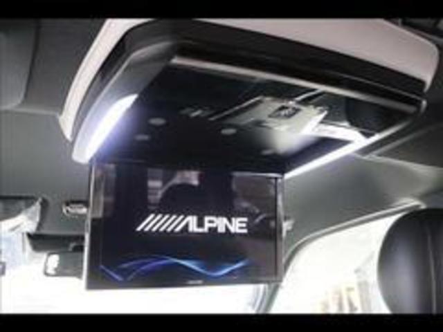 スーパーGL DARK PRIMEII アルパインビッグX フリップダウンモニター 4WD 両側電動ドア デジタルインナーミラー ディーゼル車 コーナーセンサー バックカメラ プッシュスタート LEDヘッドライト オートハイビーム(9枚目)