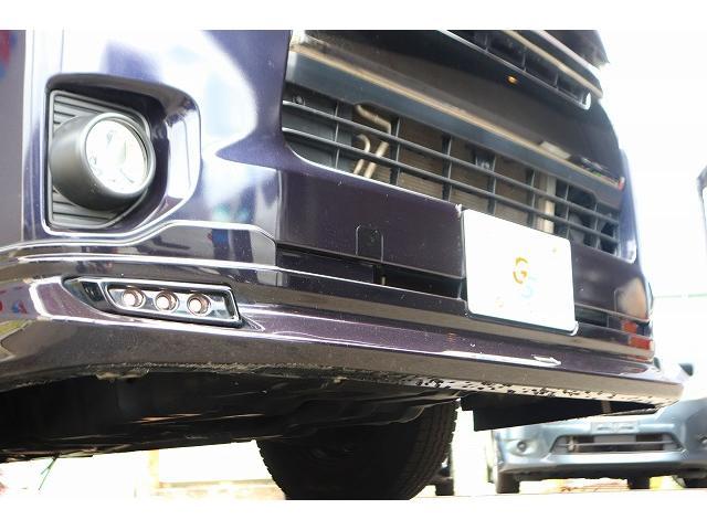 スーパーGL ダークプライム モデリスタエアロ プッシュスタート ディーゼル ステアリングスイッチ カロッツェリアナビ フルセグ バックカメラ LEDヘッドライト ETC スライドドア ハーフレザーシート(2枚目)