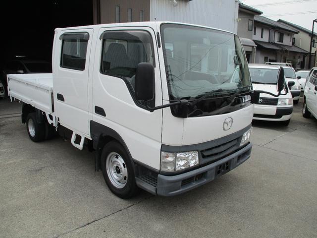 マツダ タイタンダッシュ WキャブワイドローDX ガソリン車 積載1250k Wタイヤ