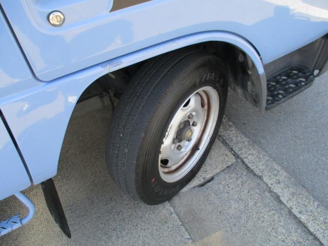 WキャブロングスーパーローDX リアWタイヤ 積載1250k(5枚目)