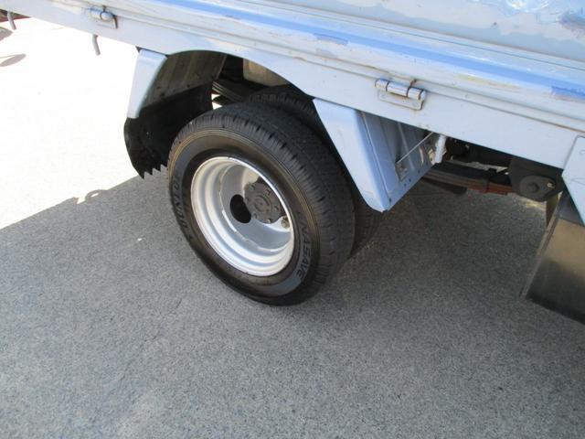 WキャブロングスーパーローDX リアWタイヤ 積載1250k(6枚目)