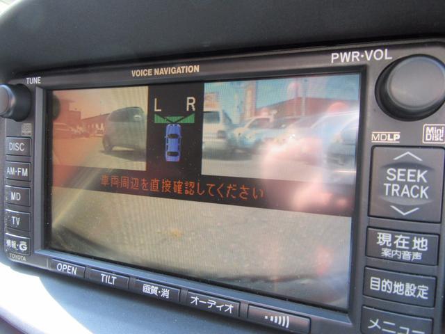 トヨタ エスティマT アエラス フロントバックモニター 純正DVDナビ 純正アルミ