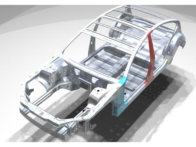 GRスポーツGR SDナビ フルセグ Bluetooth対応 ETC レーンアシスト ハーフレザーシート  バックカメラ LEDヘッドランプ オートハイビーム 17インチアルミホイール(6枚目)