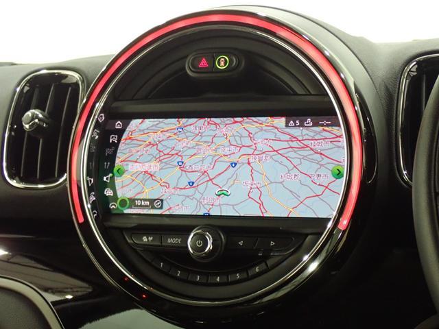 クーパーSD クロスオーバー オール4 ターボ 4WD HDDナビ Bluetooth対応 ドライブレコーダー バックカメラ ETC2.0 LEDヘッドランプ オートライト クリアランスソナー 電動リアゲート ルーフレール(38枚目)