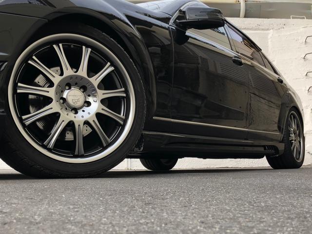 メルセデス・ベンツ M・ベンツ S500ロングWALDブラックバイソン カールソン20インチ