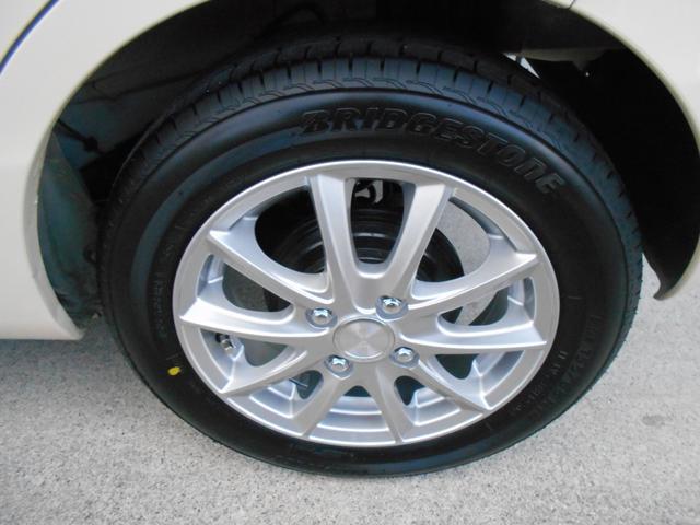 新品タイヤは155-65R14 BS ネクストリー