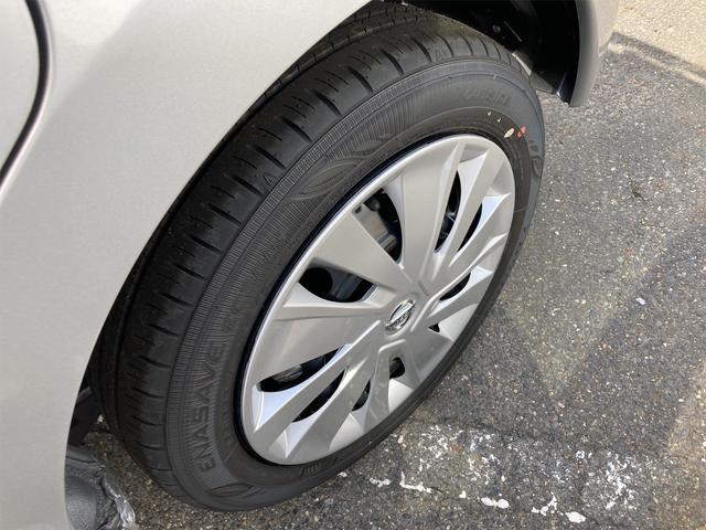 足元を変えるだけで車のイメージがかなり変わります。デザインもよく、ばっちり決まっています。